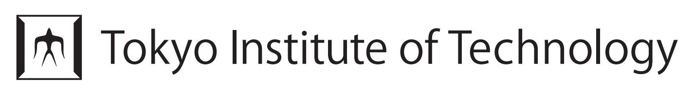 Logo Tokyo Institute of Technology